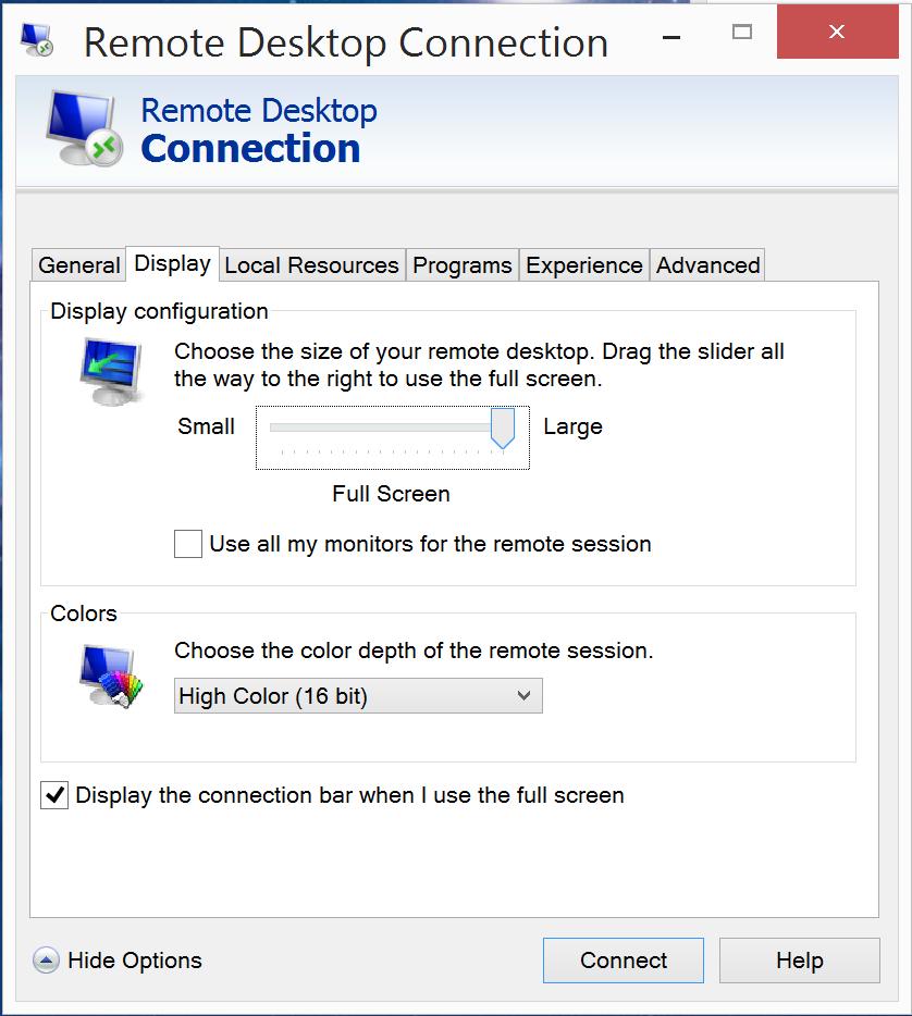 parallels desktop full screen resolution