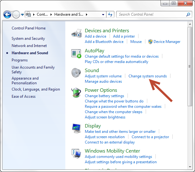 Configure PC sound alerts for Chat | TeamSupport Customer Hub