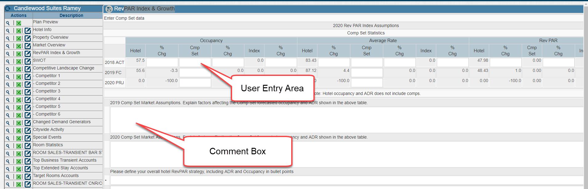 d  ProfitPlan - Data Entry | ProfitSword Customer Hub