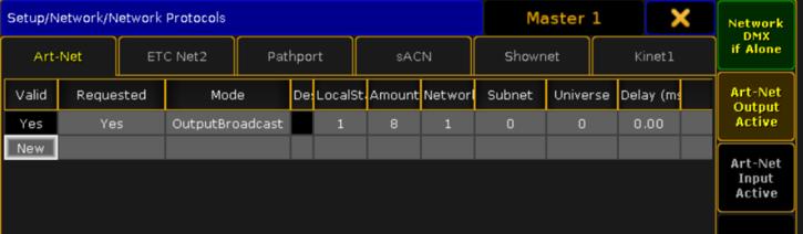 Outputting Art-Net from onPC | A C T Lighting Inc  Customer Hub