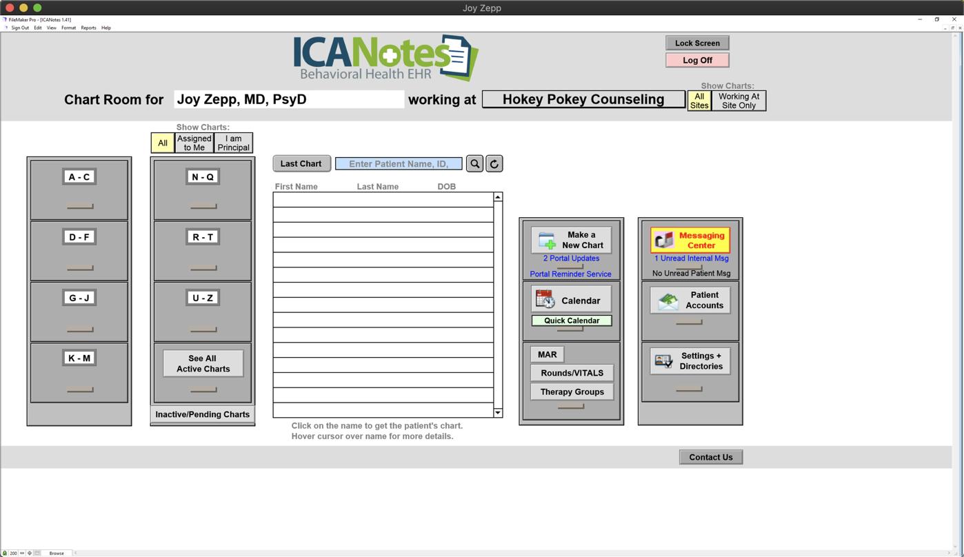 ICANotes Knowledgebase