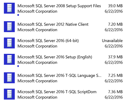 ms sql server 2016 express download iso
